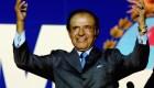 3 días de duelo por la muerte de Carlos Saúl Menem