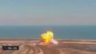 Investigan la explosión de cohete de SpaceX