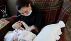Una madre dio a luz en coma inducido por covid-19