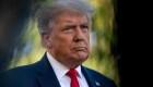 Trump rechaza testificar en su juicio político
