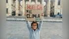 Francisco Javier Vega, el niño activista, guardián del medio ambiente