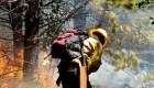 Gran incendio en la Patagonia Argentina