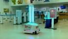 Este robot lucha contra el covid-19 en aeropuerto de Florida