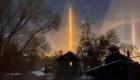 El fenómeno óptico que iluminó el cielo de Nebraska
