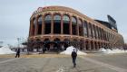 Así usan el estadio de los Mets como centro de vacunas