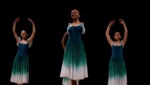 Sin brazos destaca como bailarina