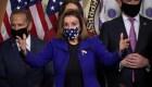 """Pelosi: Comisión """"estilo 9/11"""" investigará insurrección"""