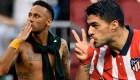 San Valentín: el romanticismo de Neymar Jr. y Luis Suárez