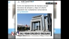 Chile frena la expulsión de venezolanos