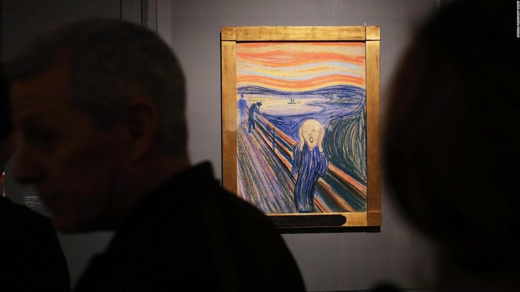 """Explican misterioso mensaje oculto en la pintura """"El grito"""""""