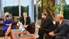 ¿Qué hace el presidente de Argentina en México?