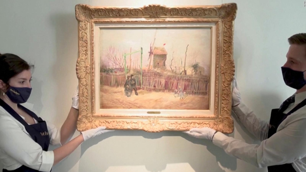 Subastan pintura inédita de Van Gogh