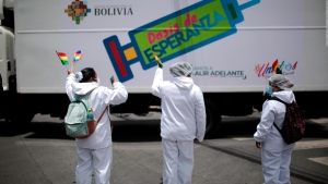 Comienza en Bolivia la vacunación masiva