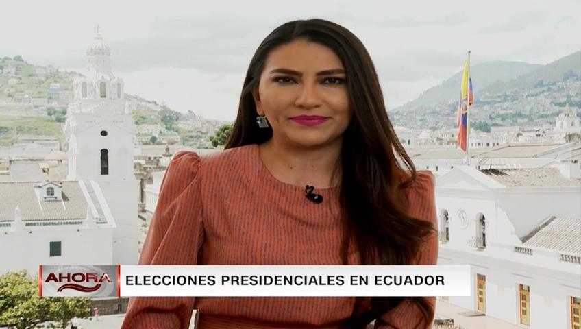 Largas filas para votar en algunos centros de sufragio en Ecuador: así va la jornada electoral