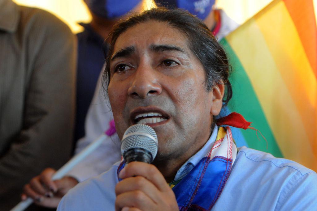 Yaku Pérez habla de los primeros resultados de las elecciones