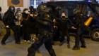 Protestas en contra del arresto del rapero Pablo Hasél