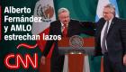 Alberto Fernández estrecha lazos con AMLO y Carlos Slim
