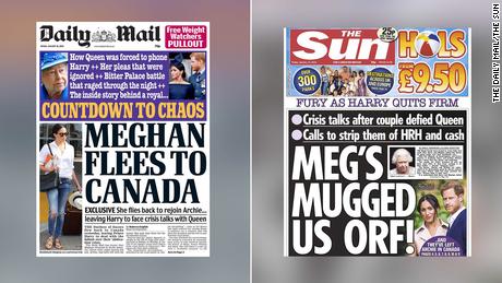 Duques de Sussex, en el ojo de los tabloides británicos