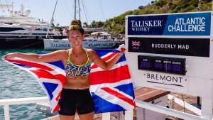 Jasmine Harrison y su histórico viaje por el Atlántico
