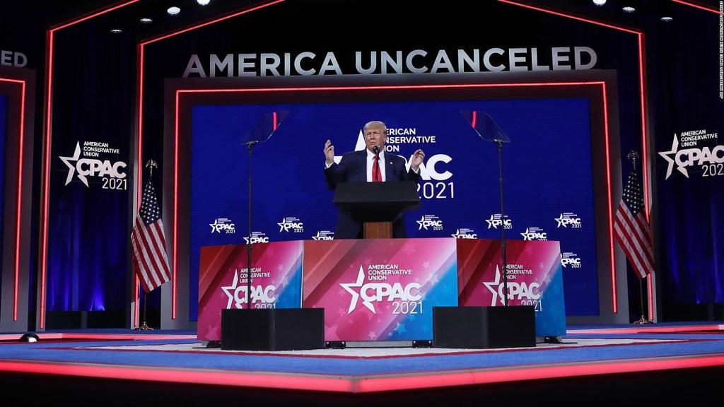 Trump reaparece y promete represalias