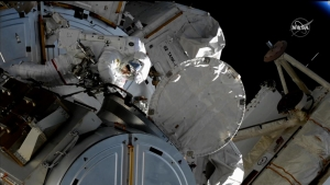 Mira la última caminata espacial en alta definición
