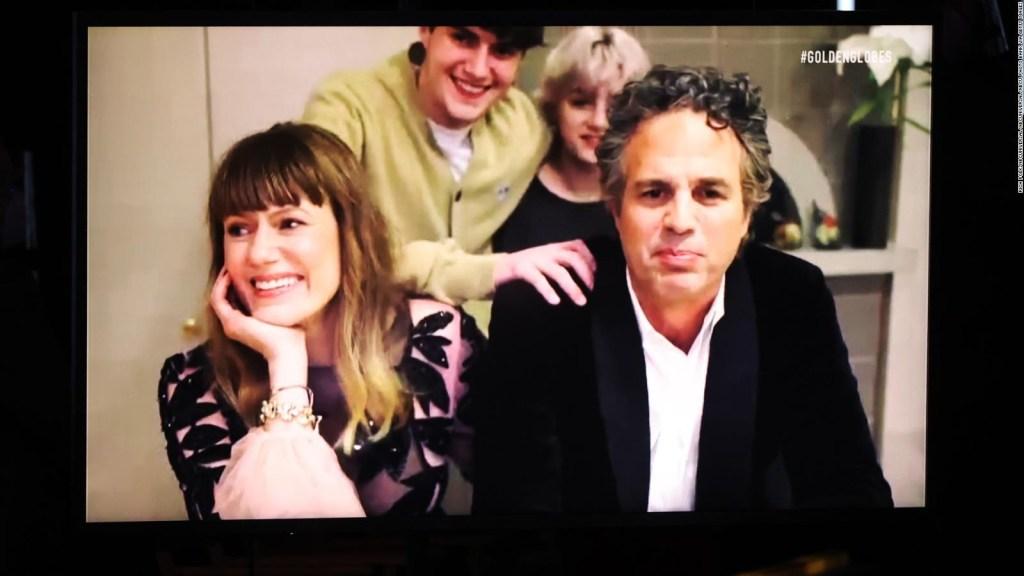Es tendencia: los hijos de Ruffalo en los Golden Globes