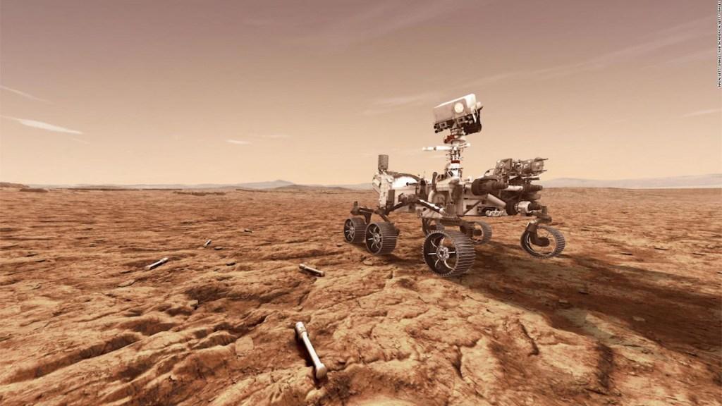 Increíbles fotos del róver Perseverante desde Marte