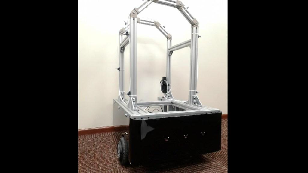 Este robot mexicano se une a la lucha contra el covid-19