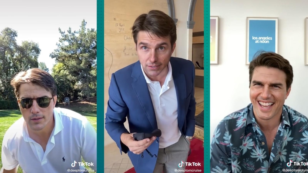 No, Tom Cruise no está en TikTok, son videos alterados