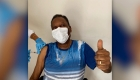 Pelé recibe vacuna contra el covid-19