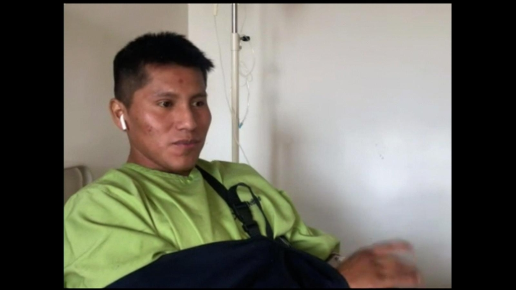 """Sobreviviente de 2 tragedias: """"Otra vez me está pasando"""""""