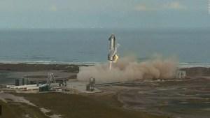 Explota prototipo de cohete de SpaceX luego de aterrizar