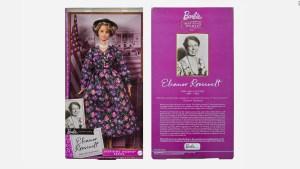 Barbie presenta a su modelo de Eleanor Roosevelt