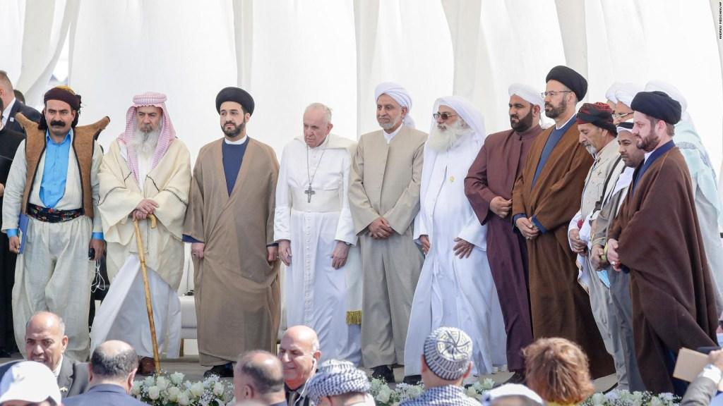 Segundo día de histórica visita papal a Iraq