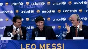 Laporta: Messi quiere al FC Barcelona