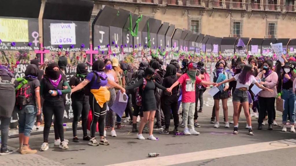 Se estigmatiza a mujeres cuando protestan, según informe