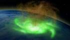 """Detectan """"huracán espacial"""" por primera vez"""