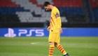 Otra decepción europea para Messi y el Barcelona