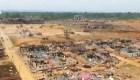 Explosiones en Guinea Ecuatorial: drones revelan gran destrucción