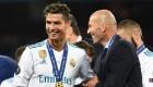 Zidane aprueba un posible regreso de Cristiano Ronaldo al Madrid