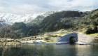 Así será el primer túnel para barcos entre montañas