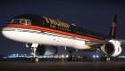 Así se encuentra el avión de Trump tras meses en desuso