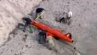 Encuentran dron de la Fuerza Aérea en una playa