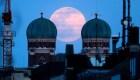 Superluna de gusanos brilla en el cielo