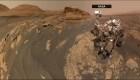 El róver Curiosity se toma un selfi marciano
