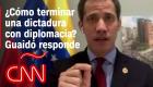 ¿Cómo terminar una dictadura con diplomacia?