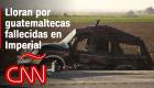 Choque mortal en Imperial: madres guatemaltecas lloran a sus hijas fallecidas