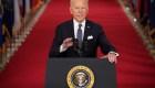 Primer discurso del presidente Biden en horario estelar