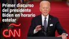 Biden en su primer discurso en horario estelar: La única manera es vencer al virus