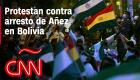 Protestan contra detención de expresidenta interina Jeanine Añez en Bolivia